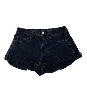 American Eagle Hi Rise Festival Jean Shorts 4